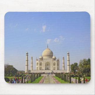 Taj Mahal a mausoleum located in Agra India Mousepads