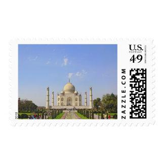 Taj Mahal, a mausoleum located in Agra, India, Postage