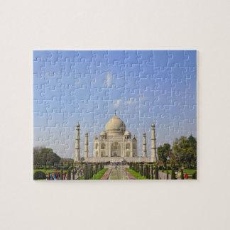 Taj Mahal, a mausoleum located in Agra, India, Puzzle