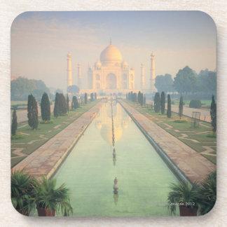 Taj Mahal, Agra, India 2 Beverage Coaster