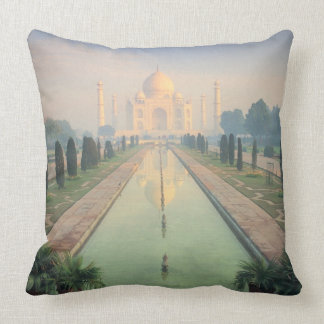 Taj Mahal, Agra, India 2 Throw Pillow