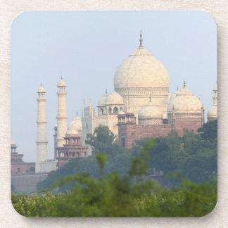 Taj Mahal, Agra, India Beverage Coaster