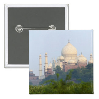 Taj Mahal, Agra, India 2 Inch Square Button
