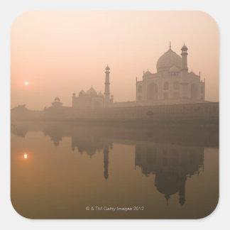Taj Mahal, Agra, India Square Sticker