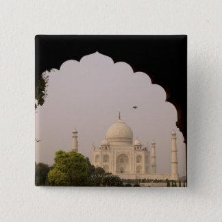 Taj Mahal, Agra, Uttar Pradesh, India 2 Button