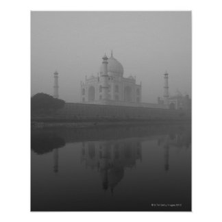 Taj Mahal, Agra, Uttar Pradesh, India 3 Poster