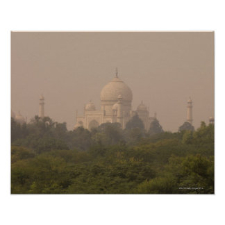 Taj Mahal, Agra, Uttar Pradesh, India 4 Poster