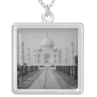 Taj Mahal, Agra, Uttar Pradesh, India 5 Square Pendant Necklace