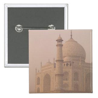 Taj Mahal, Agra, Uttar Pradesh, India 6 2 Inch Square Button