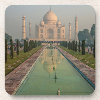 Taj Mahal, Agra, Uttar Pradesh, India Beverage Coaster