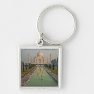 Taj Mahal, Agra, Uttar Pradesh, India Keychain