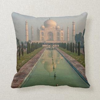 Taj Mahal, Agra, Uttar Pradesh, India Throw Pillow