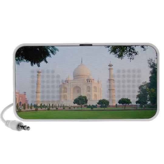 Taj Mahal at sunrise one of the wonders of the Speaker