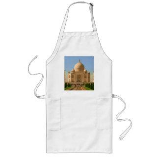 taj mahal bright long apron