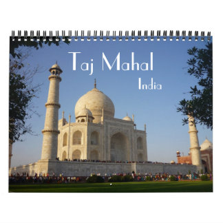 taj mahal calendar