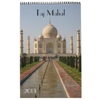 taj mahal calendar 2013