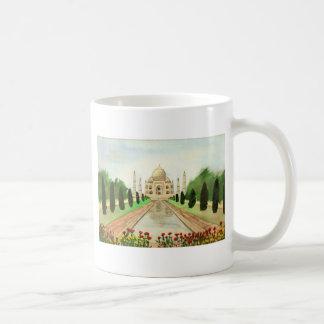 Taj Mahal Classic White Coffee Mug
