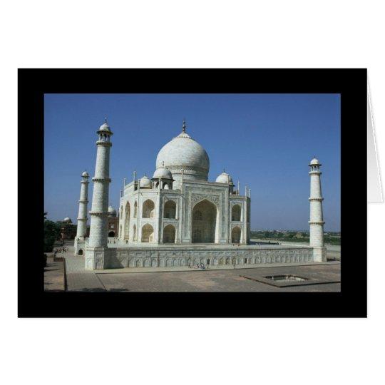 Taj Mahal Close-Up Card