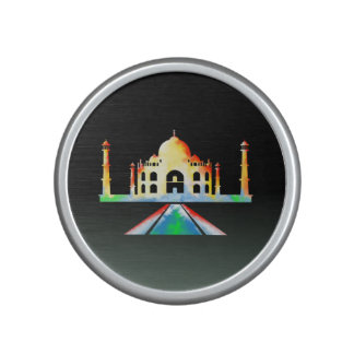 Taj Mahal Colorful Illustration Speaker