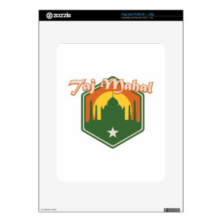 Taj Mahal Decals For The iPad