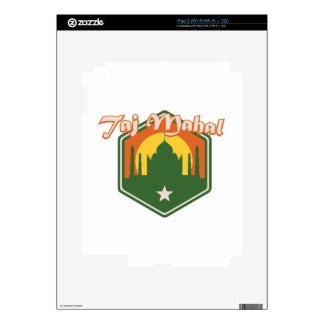 Taj Mahal Decals For The iPad 2