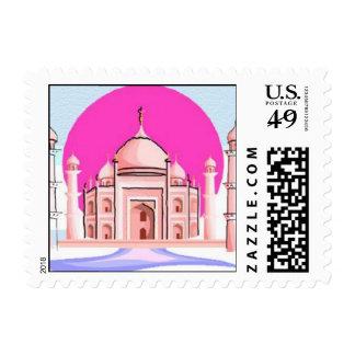 Taj Mahal, Delhi, India Postage