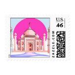 Taj Mahal, Delhi, India Stamps