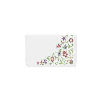 Taj Mahal Floral Business Card Holder