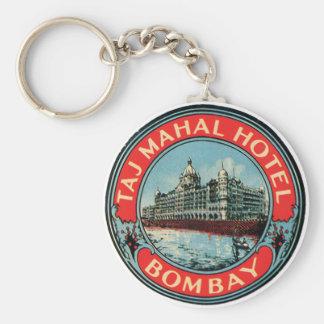 Taj Mahal Hotel Bombay Basic Round Button Keychain
