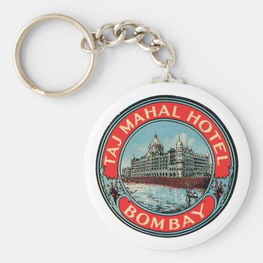 Taj Mahal Hotel Keychain