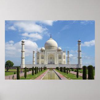 Taj Mahal in Agra India Poster