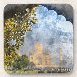 Taj Mahal in India Coaster