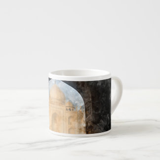 Taj Mahal in the Morning Espresso Cup