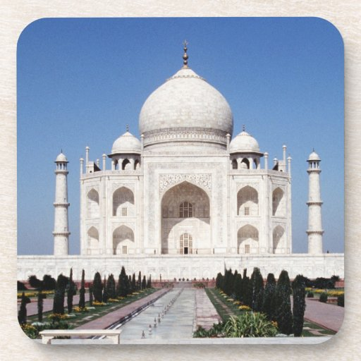 Taj Mahal India Beverage Coasters
