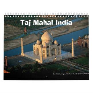 Taj Mahal India calendar