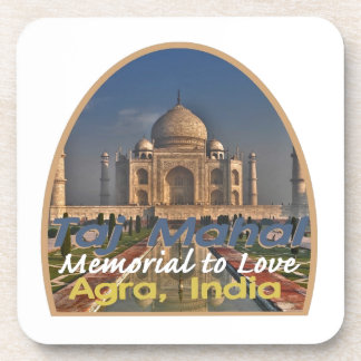 TAJ MAHAL India Drink Coaster