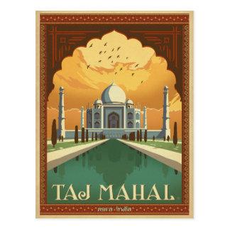 Taj Mahal, India Postcard