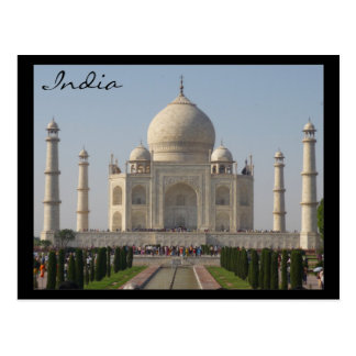 taj mahal india post cards