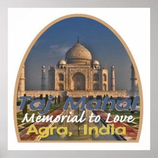 TAJ MAHAL India Poster