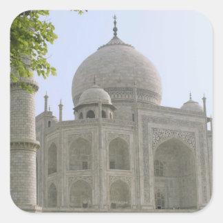 Taj Mahal, India Square Sticker