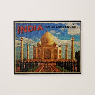 Taj Mahal India Vintage Puzzle