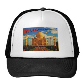 Taj Mahal India Vintage Trucker Hat