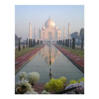 Taj Mahal Letterhead