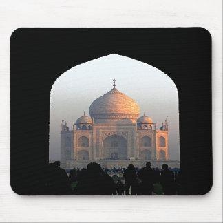 Taj Mahal Light of Dawn India Architecture Photo Mouse Pad