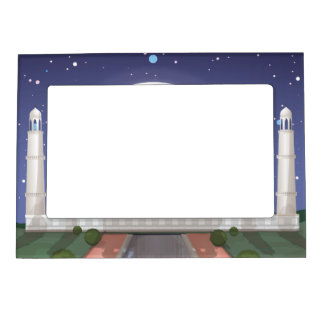 Taj Mahal Magnetic Photo Frame