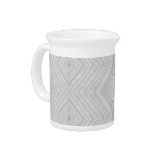 Taj Mahal Marble Light Grey Drink Pitcher