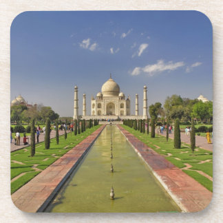 Taj Mahal mausoleum / Agra, India 2 Drink Coaster