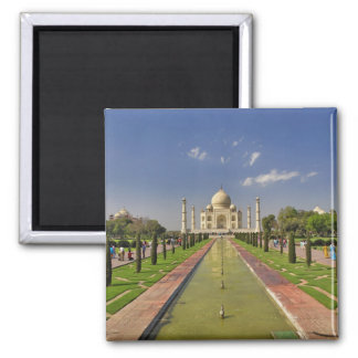 Taj Mahal mausoleum / Agra, India 2 Fridge Magnet