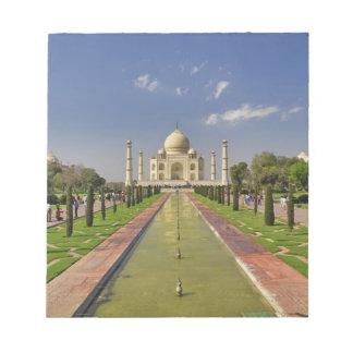 Taj Mahal mausoleum / Agra, India 2 Note Pad