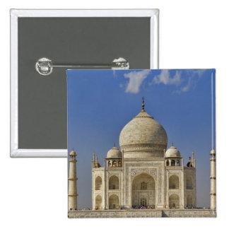 Taj Mahal mausoleum / Agra, India 2 Inch Square Button